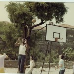 Steps Ahead playing Basketball in Instanbul, Turkey 1980